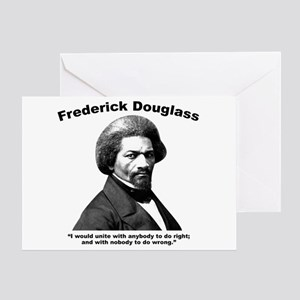 Douglass: Unite Greeting Card